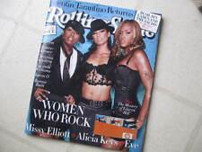 Rolling Stone Mag 2003 Special Women/Rock A Keys Karen O Lucinda Missy Eve Dolly