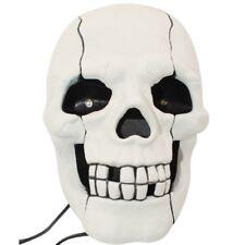 Téléphone fixe en forme de Crâne Squelette Blanc-skull phone