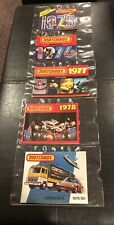Matchbox Collector Catalogues - Lot of 5 (1975,1976,1977,1978,1979/80) Vintage