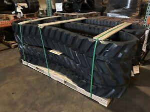 230x96x35  Rubber Tracks Set Qty 2 Takeuchi TB15F TB15FR