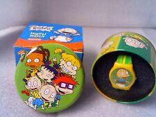 NEW IN BOX Rugrats digital watch Nickelodeon Tin B-day gift!