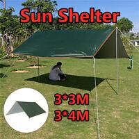 Waterproof Camping Tent Tarp Outdoor Awning Shade Sun Rain Shelter Mat Canopy