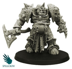 Spellcrow Plague Legions Plague Prince Daemon Warhammer 40k 60mm COMPATIBLE PDT