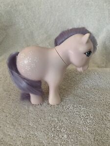Vintage G1 My Little Pony Concave Foot Cc - Blossom