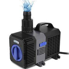 600 L.//Std Pumpe für Gartenbrunnen Teiche und Wasserfälle Brunnenzubehör Wasser