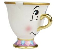 Disney Beauty and the Beast Chip Mug with Gold Foil Printing Limited