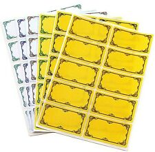 Tala 60x Preserving Labels for Jam Jar Preserves Chutney Pickle Freezer Stickers
