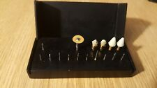 Axis Dental Aluminum Bur Block W/ 16 Bits, # AB420-1B