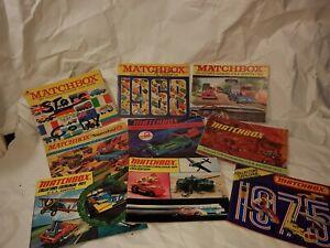 Matchbox Catalogs Complete Set 1967-1983