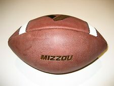 Missouri Tigers GAME USED Nike Vapor One 1 Football - UNIVERSITY - Mizzou