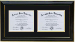 Double diploma frame RC-H 8x6,11x8.5,11x14,8x10,5x7,7x9,9x12,10x13,11x14,14x17