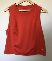 Joy Lab Womens Tank Top XL Athletic Fitness Orange Activewear Gym Run Exercise