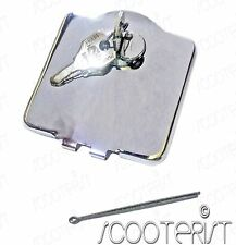 Lambretta LI TV SPECIAL Series 1 2  Fuel Petrol Gas Tank Outer Cap Lock Chrome