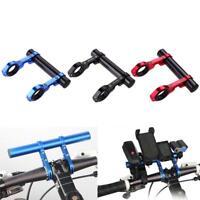 Fahrrad Lenker Extender Erweiterung GPS Handy Lampe Tachometer Halterung Halter