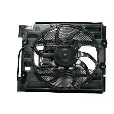 One New MTC A/C Condenser Fan Assembly 1795 for BMW 525i 528i 530i 540i M5