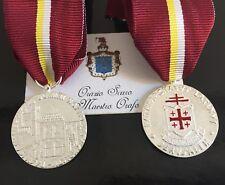 Medaglia di Benemerenza Patriarcato Latino di Gerusalemme Ordine Santo Sepolcro