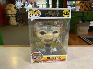 """Funko POP! DELUXE Star Wars Rise of Skywalker 10"""" Inch BABU FRIK #435"""