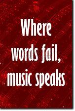 """MUSICA preventivo POSTER 3 """"dove le Parole Falliscono MUSICA Parla"""" motivazione stampa motivazione"""