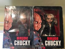 """Dream Rush Set Of Two 12"""" dolls Chucky (NEW) and Tiffany (USED) Bride of Chucky!"""