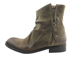 Robert Graham St Andrews Leather Ankle Boots, Tan