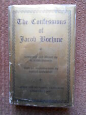 THE CONFESSIONS OF JACOB BOEHME - COMPILED AND EDITED BY W. SCOTT PALMER