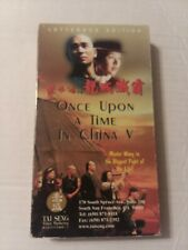Once Upon A Time In China  VHS 1995 Action Martial Arts Master Wong Chinese