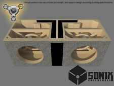 STAGE 3 - DUAL PORTED SUBWOOFER MDF ENCLOSURE FOR MTX 5510 SUB BOX
