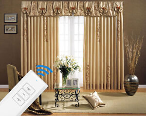 """Double Electric Curtain Track 5M (197"""") Remote Control Smart Curtain Tracks"""