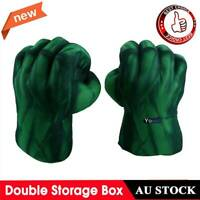 1Pair Incredible Cosplay Hulk Gloves Smash Hands Boxing Fists Punching fh