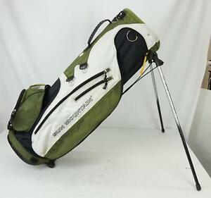Sun Mountain SL 3.5 Men's  6-Way Divider Golf Club Stand Bag Green & White