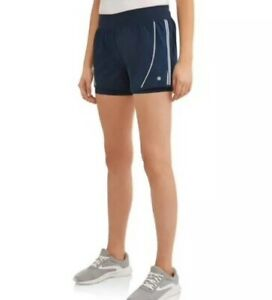 Avia Active Wear Shorts Women's Size XXL 20 Navy In Color Moisture Wicking New