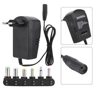 Adaptateur d'alimentation universel 30W Prise UE 3V 4.5V 6V 7.5V 9V 12V Durable