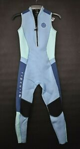 Rip Curl Womens 3/4 Chest Zip Stand-Up Collar Long Sleeve Comfort Fit Wet Suit 6