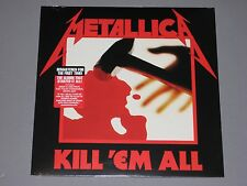 METALLICA  Kill Em All 180g LP 2016 Remaster New Sealed Vinyl  Kill 'em all