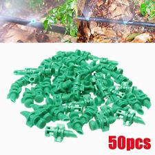 50x 180° Micro Ugello Nebulizzazione Acqua Spruzzatore Testa Irrigatore Plastica
