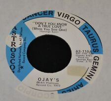 O'Jays ASTROSCOPE 110 Peace and Don't You Know a True Love