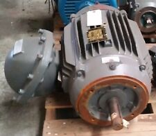BALDOR 15HP 3PH 3530RPM 230/460V  30.2/18.2A 286TC2 FRAME USED-RECONDITIONED