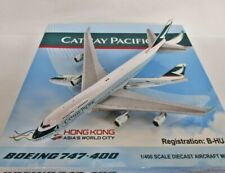 "Blue Box 1:400 cathay pacific 747-400 ""Last Flight"