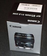 Genuine Canon USA EF 85mm f/1.8 USM Medium Telephoto Lens