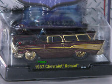 M2 Machines 1957 Chevrolet Nomad 57 Chevy Ground Pounder CHASE Release 5 10-24