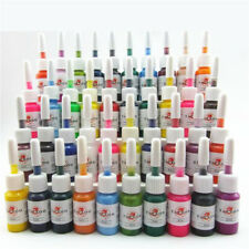 40Pcs Tattoo Ink 40 Colors Set 5ml/Bottle Tattoo Machine Pigment Supply Kit