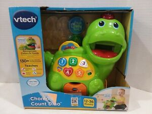 Missing Some Coins NEW Vtech Chomp & Count Dino Dinosaur Baby Learning Toy