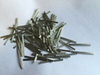 Vintage SCALEXTRIC 20mm (2cm) Contact Pick-up Braids/ Pick-up Brushes (Pack 35)
