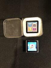 Apple iPod nano 6th Generation Graphite (8 Gb) Great Condition