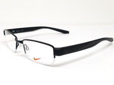 Nike Eyeglasses 8170 Frames Rimless NK8170 002 Metal Rectangle Black 52 18 140