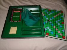 SCRABBLE  DE  LUXE  WITH  ELECTRONIC  COUNTER     COMPLETE