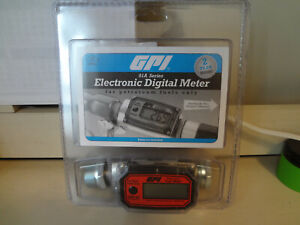 GPI 01A Series Electronic Digital Meter for Petroleum Fuels Only 113255