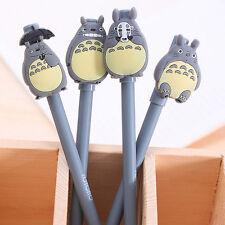 4pcs Cute Cartoon Ball Point Pen Ballpoint Totoro Creative Stationery Students