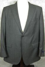 NWT $379 Brooks Brothers Loro Piana Wool Gray Herringbone Italy Jacket Coat 44R