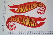 Xxl Hot wheels 2 pièces autocollant sticker GRAND skull massif shocker Custom Big 9